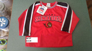 NEW Ottawa Senators sz  2T Jerseys