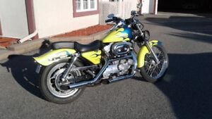 1997 Harley Davidson Sporster 883 monté Low Boy