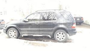 2002 Mercedes-Benz 500-Series SUV, Crossover