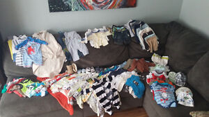 Boys assorted clothing 0-6 months London Ontario image 1
