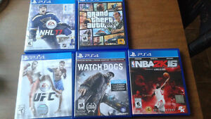 Ps4 for sale with games