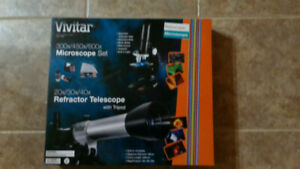 Vivitar telescope/microscope kit