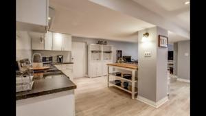 Basement Apartment For Rent $1475 INCLUSIVE w/internet&parking
