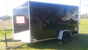 14' enclosed trailer alluminum 2014