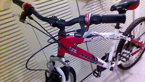Youth Bicycle 21 speed with front suspension Bike