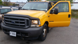 2003 Ford F350 Crew 7.3 Power Stroke DUMP TRUCK