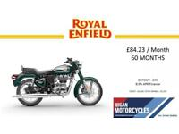 2018 ROYAL ENFIELD BULLET EFI 500 ABS..84.23 OVER 60M WITH 99 DEPOSIT.8.9% APR.