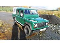 Land Rover Defender 110 Double Cab Pick Up TD5