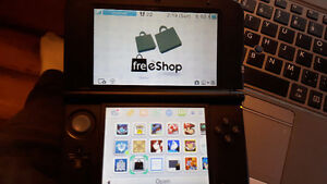 MODDED 3DSXL! Luma and Freeshop installed, ALL 3DS games
