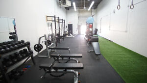 GYM SPACE / PERSONAL TRAINING STUDIO FOR RENT