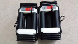 Pair Powerblock Elite Classic 45 Adjustable Dumbell 5lb to 45lb