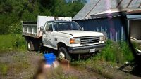 1991 ford f350 1 ton dump truck for parts