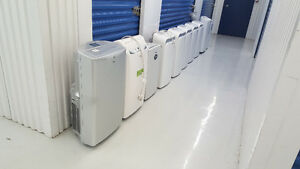 Portable AC Units, 5000-14000 BTU, $199+, delivery available.