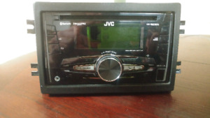 One year old double din Bluetooth deck with hands-free speaker