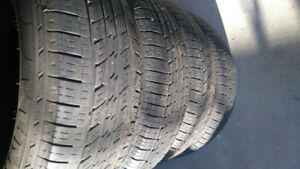 17 inch Kumho Solus KL21 P235/65 R17 103T all season tires