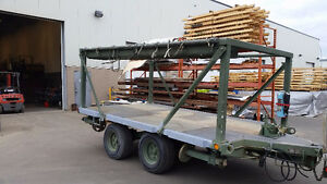 Military flat deck trailer for sale *Further Reduced*