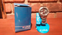 LORUS MEN'S SPORTS WATCH NEW
