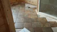 Beautiful porcelain tile