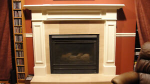 Lovely White Classic FIREPLACE  Surround