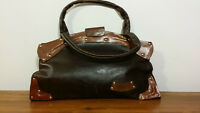 1970's Vintage Leather made Black Purse -