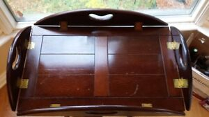 OLD WOODEN BUTLER TABLE price drop West Island Greater Montréal image 3