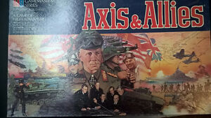 Axis and Allies BOARD GAME with miniature army pieces