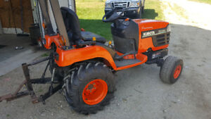 Kubota bx220 compact tractor  trade for Harley