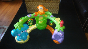 Fisher-Price Go Baby Go Crawl and Cruise Musical Jungle