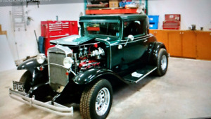 1931 .3 window Chevy coup.