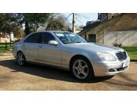Mercedes-Benz S320 3.2TD auto Limo 2005 Service History