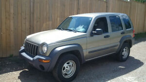 2004 Jeep Liberty Sport SUV, Crossover SAFETY INCLUDED