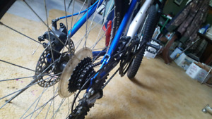 21 speed CCM mountain bicycle