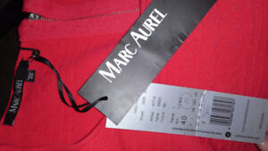 MARC AUREL RED DRESS