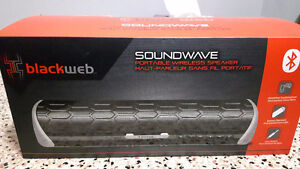 Brand new BlackWeb Soundwave speaker