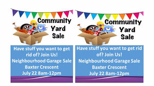 STREET SALE BAXTER CRES THOROLD