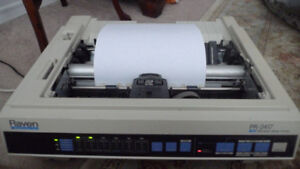Roland Form Printer PR-2417 Dot Matrix Printer