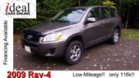 2009 Toyota RAV4  Low Mileage! Only 116k!   Excellent Condition!