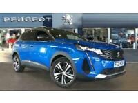 2021 Peugeot 3008 1.2 PureTech GT 5dr EAT8 Petrol Estate Auto Estate Petrol Auto