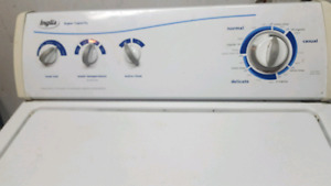 Washer and dryer for sale moving sale  price negotiable