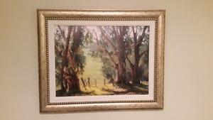 "25"" X 31"" Eucalyptus Light by June Carey"