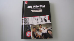 Livre, CD One Direction, Take me home, Yearbook
