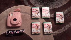 Instax mini 8 camera with 5 packs of film