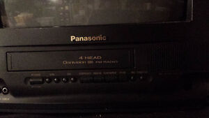 "Panasonic 13""TV/VHS/FM RADIO-like new"