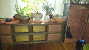 Antique Electrohome Solid State Stereo & Record Player (OBO)