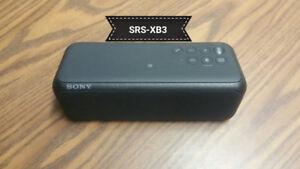 Sony SRS XB3 Extra Bass/Waterproof Wireless Speaker