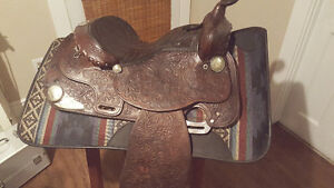 Hereford Brand Tex Tan Yoakum Western Saddle,