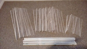 Rubbermaid Wire Shelves