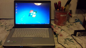Used Toshiba Equium A200 Laptop with Wireless and DVD for Sale