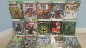 Xbox 360 (used) with Kinect, controllers, and over 30 games Cambridge Kitchener Area image 2