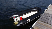 Lava 10' Rigid Hull Inflatable with 15HP Yamaha
